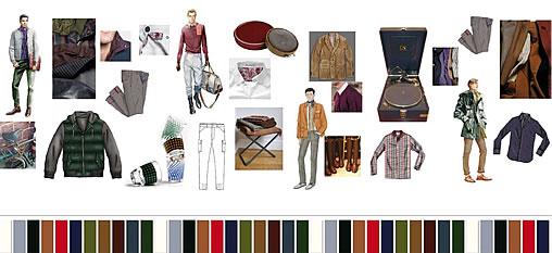 Fashion Trends Autumn/Winter 2011/2012 Men Gold Medallist