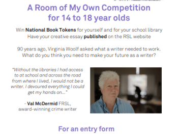 A room of my Own writing competition