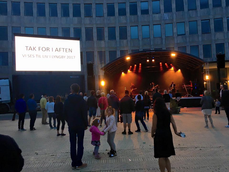 Mobilscene på 62 m2 Europaz mobil scene - scene udlejning 1