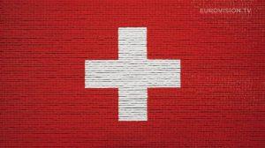 Postcard flags of Eurovision 2014 - Switzerland