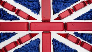 Postcard flags of Eurovision 2014 - UK