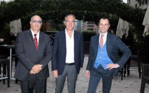 Marco Sarlo, Alberto Bianchieri e Paolo Giordano