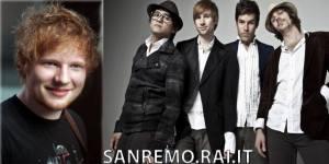 il cantante inglese Ed Sheeran e il gruppo musicale statunitense SAINT MOTEL