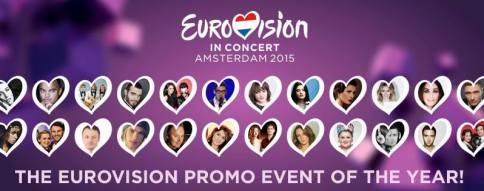 Partecipanti all'Eurovision In Concert Amsterdam 2015