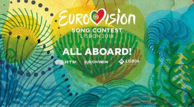 All Aboard! the 2018 Eurovision logo and slogan1