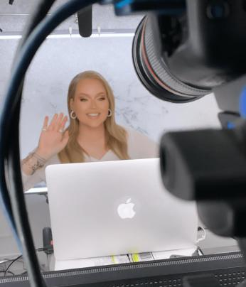 NikkieTutorials creating content for Europe Shine A Light