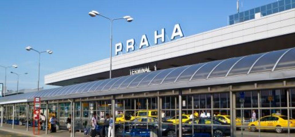 Онлайн-табло аэропорта Праги