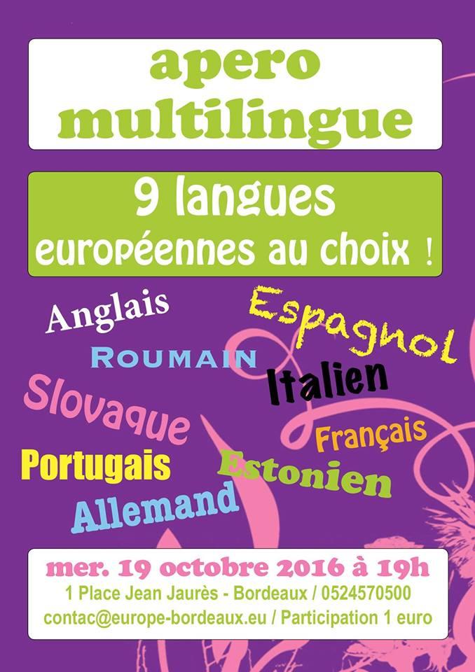 Apéro multilingue de la MEBA
