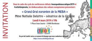Grand Oral #3 Mme Nathalie Delattre - sénatrice de la Gironde (RDSE)