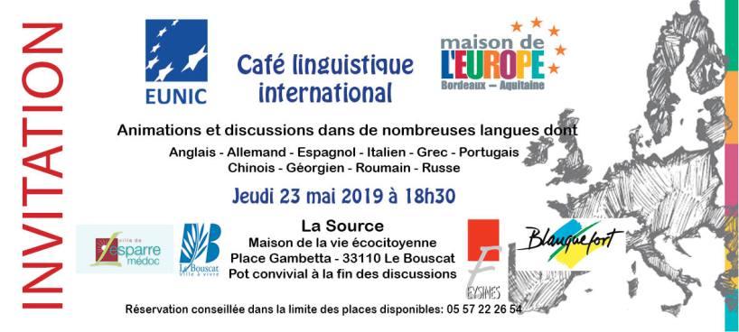 Café linguistique international - 23 mai 2019