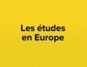 Les études en Europe