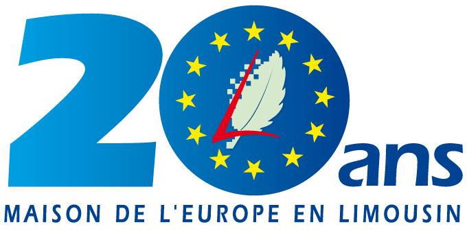 Un logo pour les 20 ans de la maison de l europe en for Maison de l europe rueil