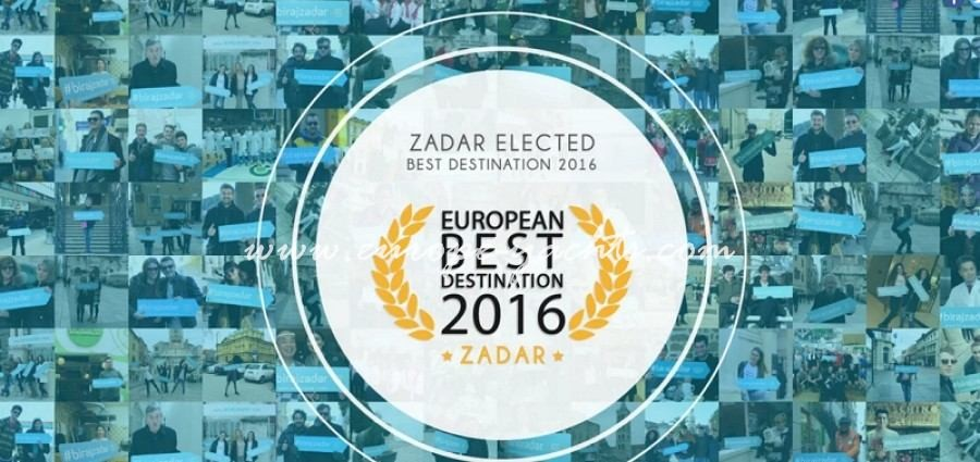 European best destination 2016 Zadar