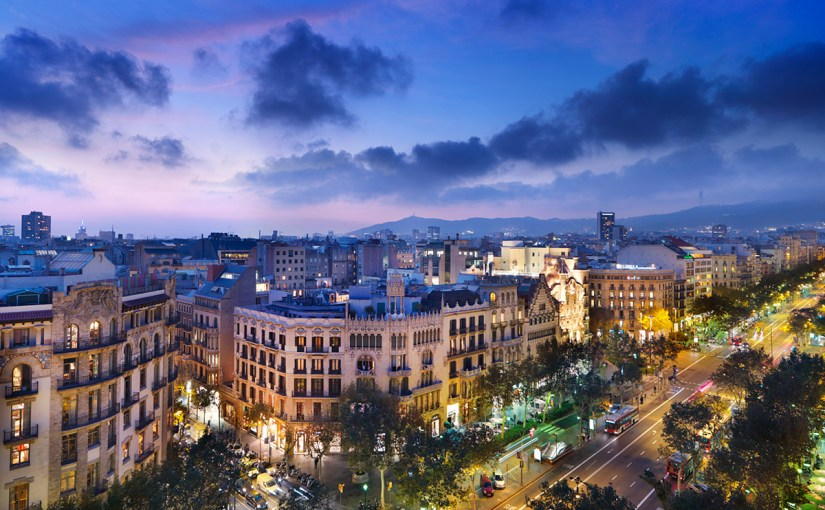 A Bar With A View: Wining And Dining In The Barcelona Sky