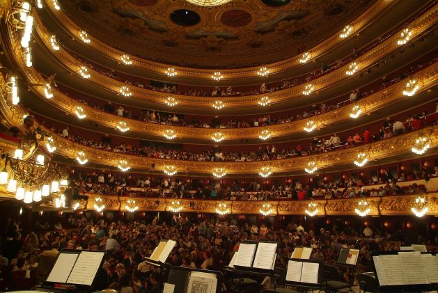 Liceu Interior example of the Barcelona Classical Music