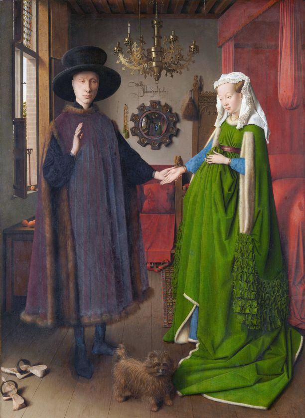 Van Eyck Arnolfini Portrait London best art