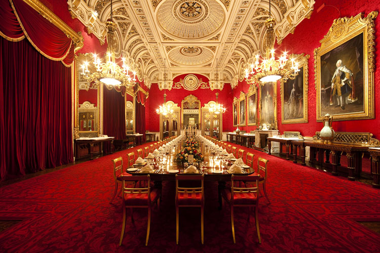 State Rooms at Buckingham Palace