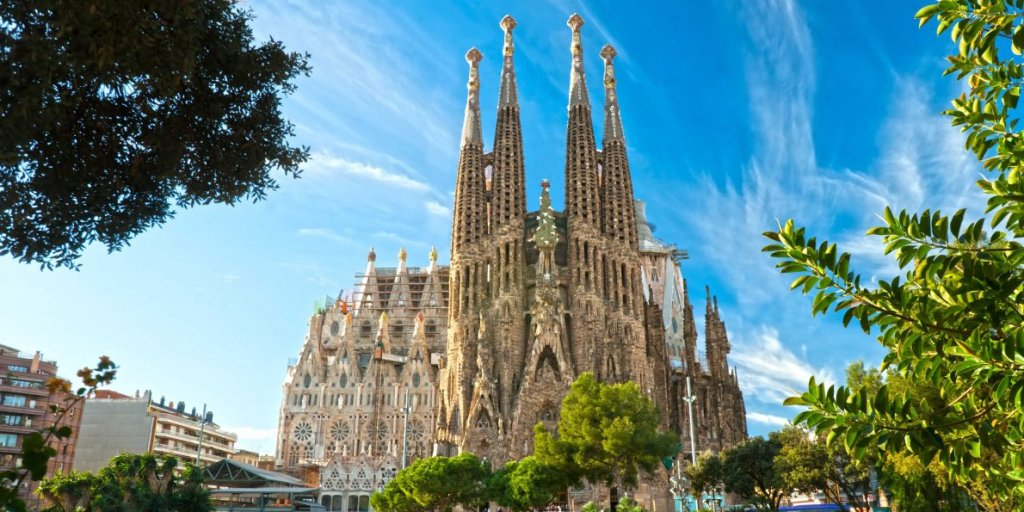 Tourist attractions in spain, Sagrada Familia