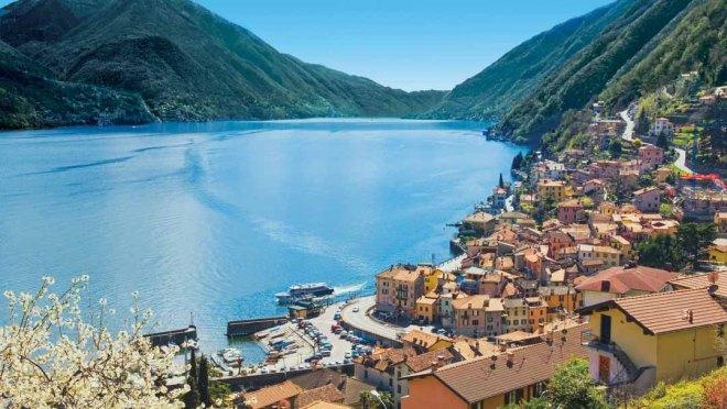 Como town in Italy