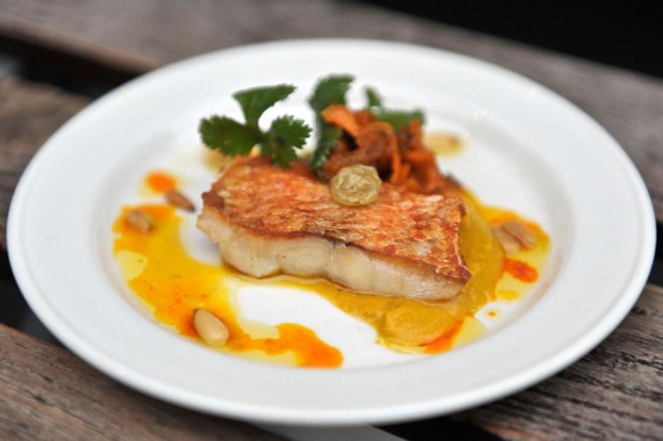 Fish dish in soho