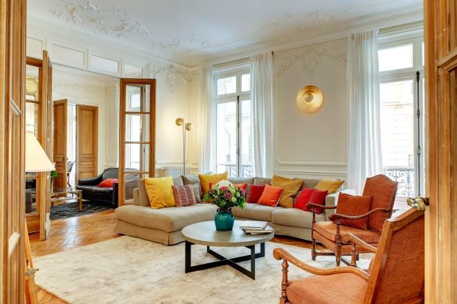 Luxury rental at Saint Germain