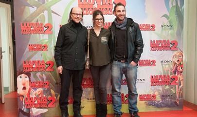 Santiago Segura, Úrsula Corveró y Dani Rovira en el Photocall