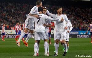 El Real Madrid venció 5-0 (agregado) al Atlético de Madrid / Foto: Cortesía Real Madrid
