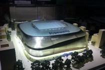 Así será el nuevo estadio Santiago Bernabéu )Foto tomada de www.edgargonzalez.com=
