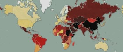 Mapa de la libertad de prensa