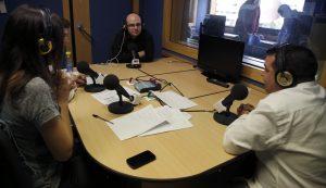 Mister Chip y Paco Reyes (Onda Cero) entrevistados en Europea Radio por #SemanaComunicacionUEM2014