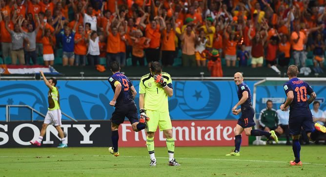 Casillas se lamenta (Foto: Getty Images/FIFA)