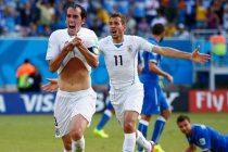 Godín celebrando el gol (Foto: Getty Images/FIFA)