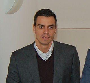 El diputado socialista PedroSánchez