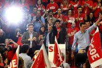 Mitín del PSOE en Gijón