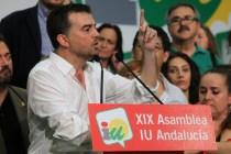 Antonio Maíllo, portavoz de IU en el Parlamento andaluz.