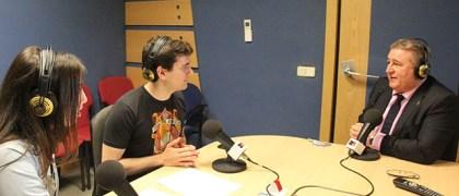 Gaspar Rosety con Alex Costa e Inma Barceló