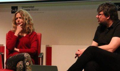 Cristina Rosenvinge en la Semana de la Comunicación 2016