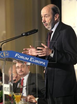 El exsecretario general del PSOE y exministro.