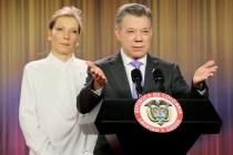El presidente de Colombia, Premio Nobel de la Paz