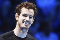 ARA2 LONDRES (REINO UNIDO), 16/11/2015.- El tenista escocés Andy Murray celebra su victoria ante el español David Ferrer durante la primera jornada del Masters de Londres disputado en el O2 Arena de Londres, Reino Unido hoy 16 de noviembre de 2015. EFE/Andy Rain