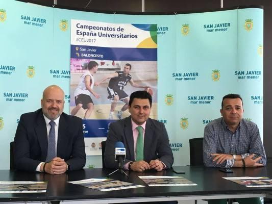 En San Javier, Región de Murcia, se cumplirán las finales de los CEU de voleibol y baloncesto.