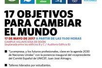 Cartel Jornada ODS Universidad Europea
