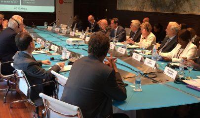 Mesa redonda organizada por el Real Instituto Elcano. Foto: Víctor Sánchez