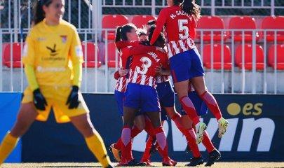 Atlético vs. Santa Teresa (@AtletiFemenil)