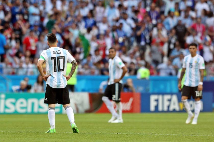 Messi, foco de las críticas del Francia – Argentina / EFE