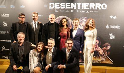"""Photocall del Palacio de la Prensa para el estreno de la película """"El Desentierro"""""""