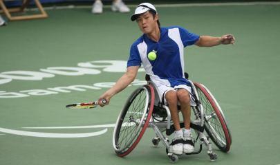 Shingo Kunieda durante el Gran Slam 2017 - EFE
