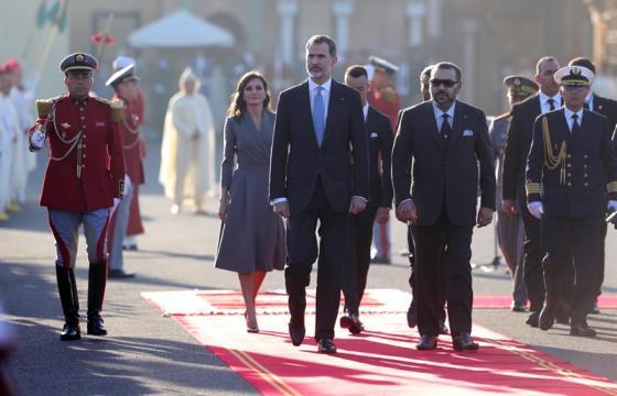 Visita Reyes España a Marruecos