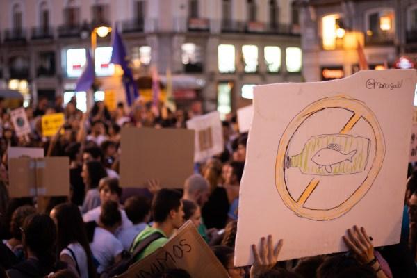 Huelga contra el cambio climático en Madrid. ALEXIS PEÑOS