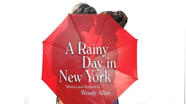Un día de lluvia en Nueva York
